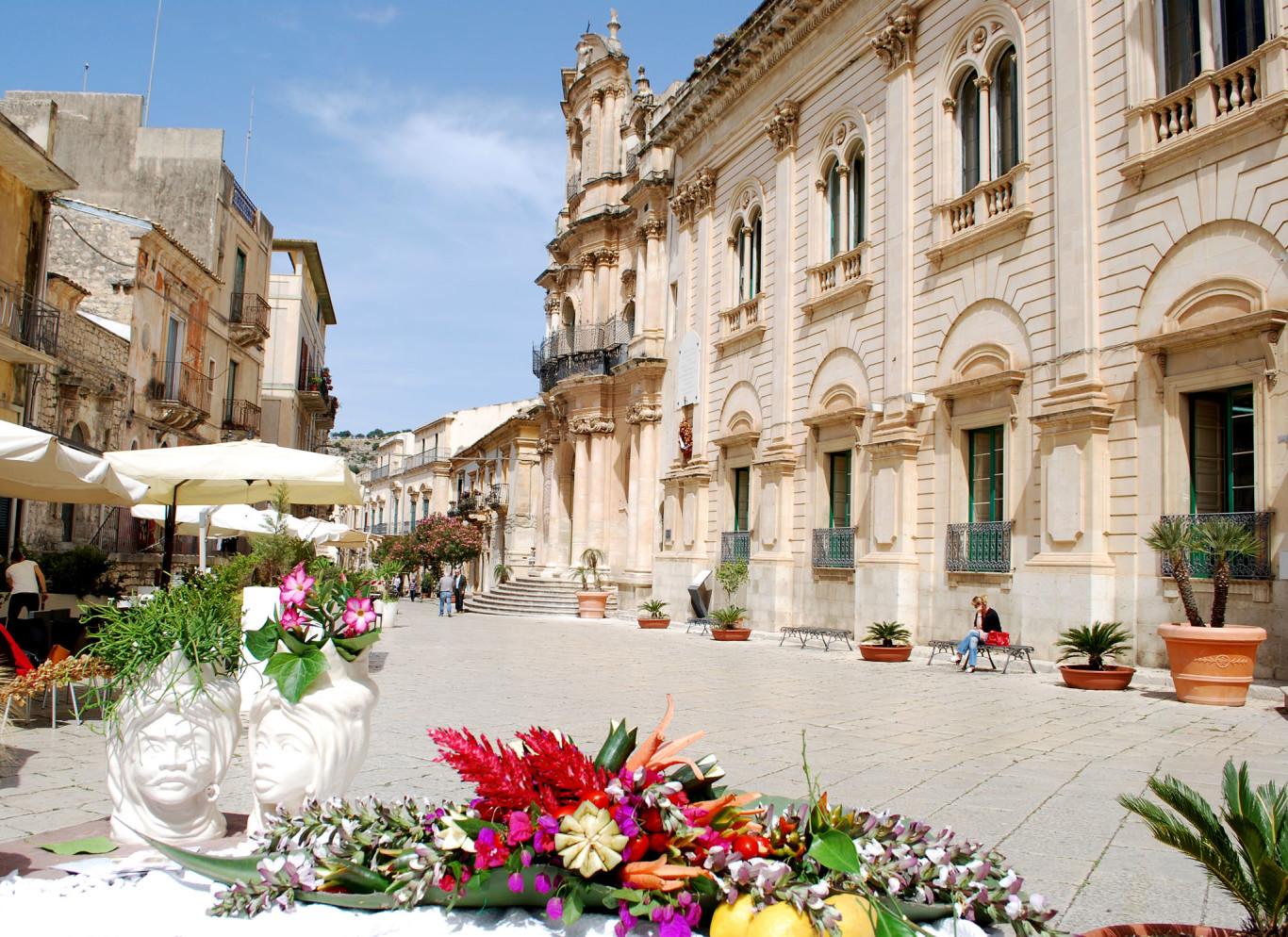 Via F. M. Penna - Scicli - Patrimonio dell'umanità - UNESCO
