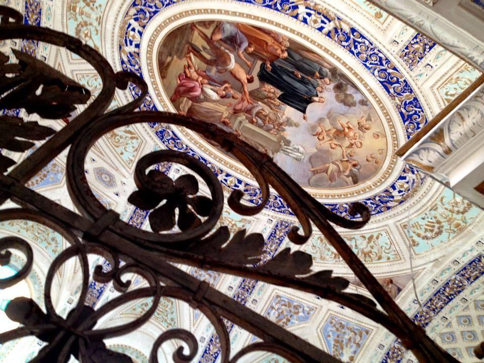 interno della chiesa di san giovanni a Scicli